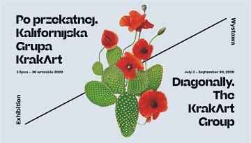 PO PRZEKĄTNEJ. Wystawa kalifornijskiej grupy KrakArt