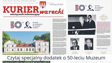 Kurier Warecki - 50 lat Muzeum w Warce
