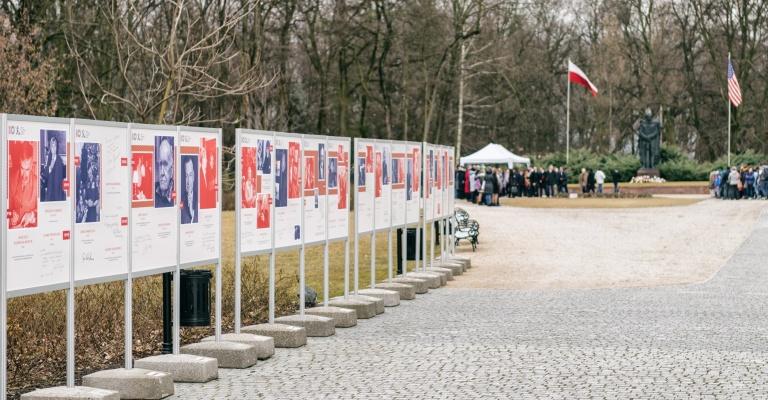 """Wystawa plenerowa """"Byli tu... 1967-2017"""""""