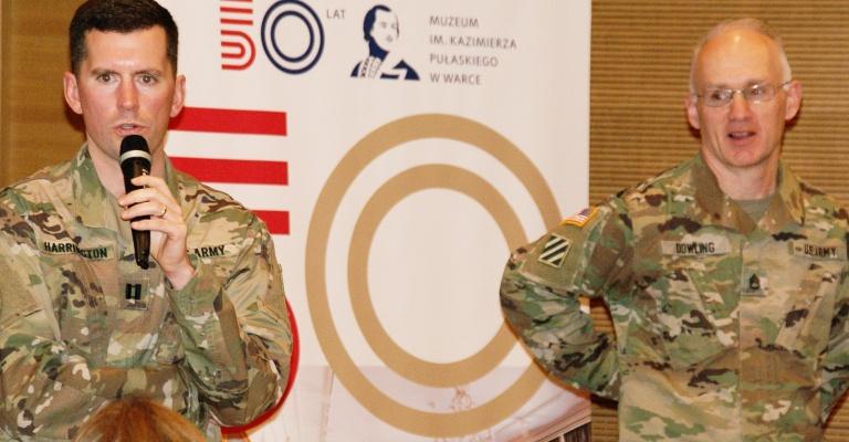 O Polsce i Polakach - rozmowa z amerykańskimi żołnierzami
