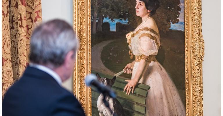 Portrety Pary Paderewskich ponownie na ekspozycji muzeum