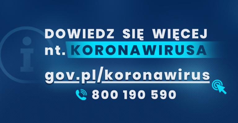 Koronawirus: aktualne informacje i zalecenia